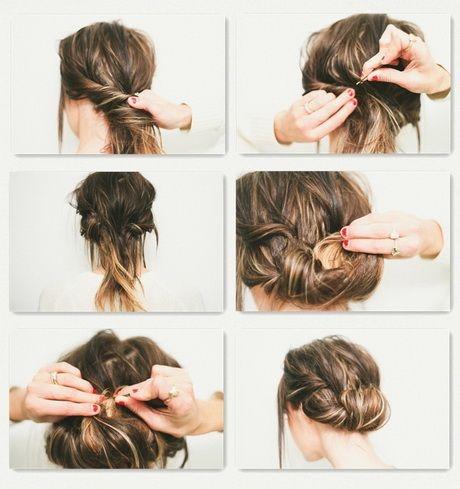 Leichte steckfrisuren lange haare