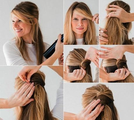Einfache haarfrisuren fr lange haare