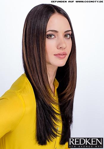 Neue Frisur Lange Haare