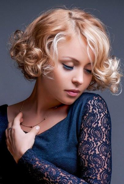 Frisuren festlich kurze haare