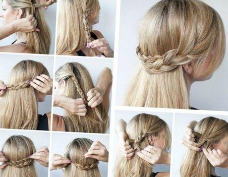 Einfache frisuren glatte haare
