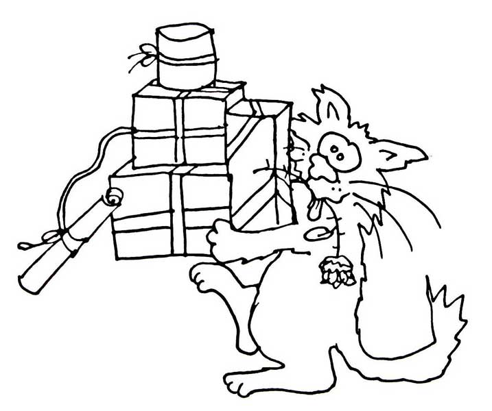 stinktier colouring pages (page 2)