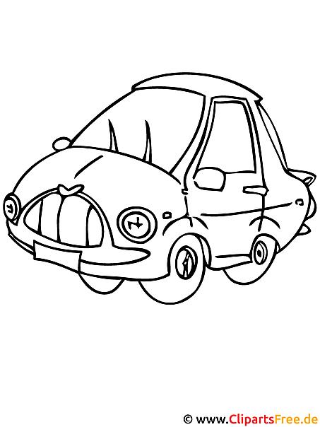 Auto Malvorlage gratis PKW - Autos Malvorlagen