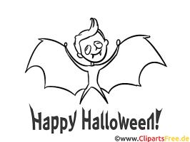 Vampir Malvorlage kostenlos