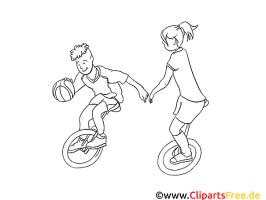 Sport Malvorlage