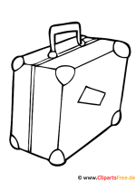 Koffer Bild   Fensterbild gratis