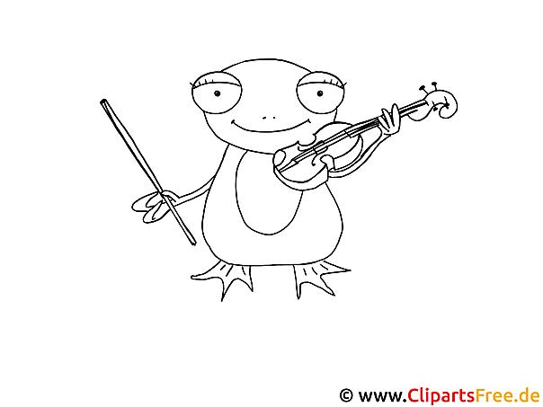 Frosch Ausmalbild Frosch Malen