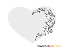 Blumenranke, Blüten filigran, Schnörkel Bilder zum ...