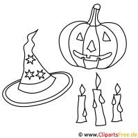 Halloween Malvorlagen gratis zum Ausdrucken