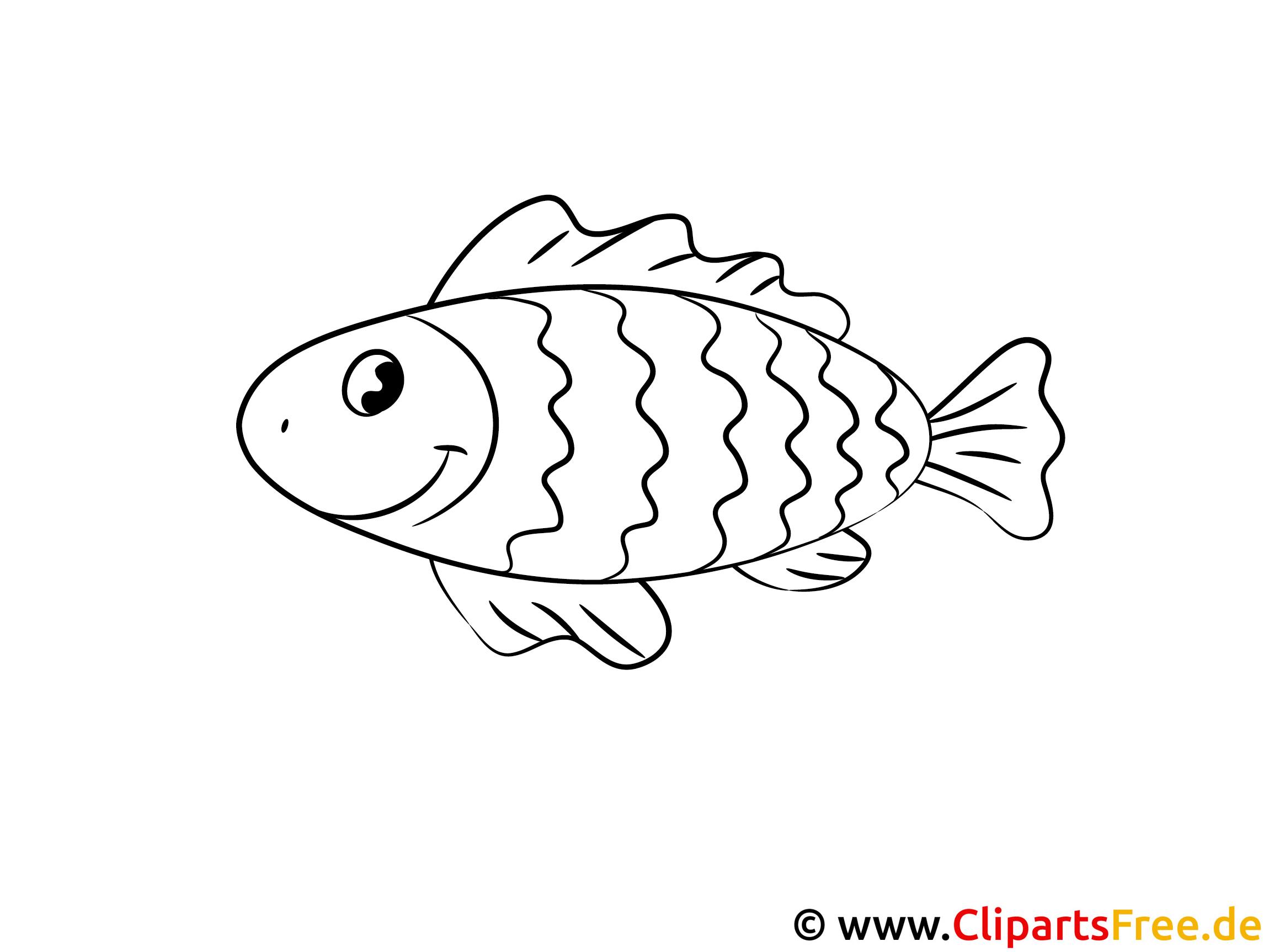 Fisch Ausmalbild