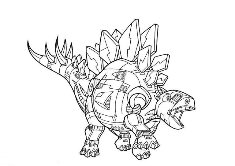 Dinotrux-4 Malvorlagen Kostenlos