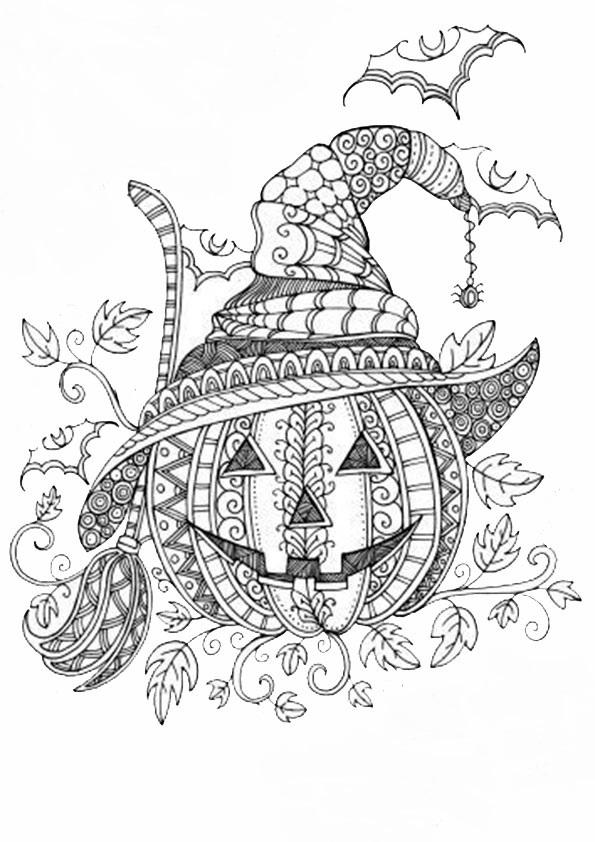 Halloween -37 Malvorlagen Kostenlos