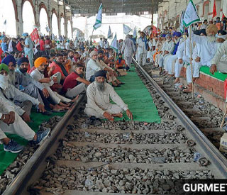 RAIL BLOCKADE DAMPENS FESTIVITIES OF DEEPAWALI FOR ARMED FORCES PERSONNEL