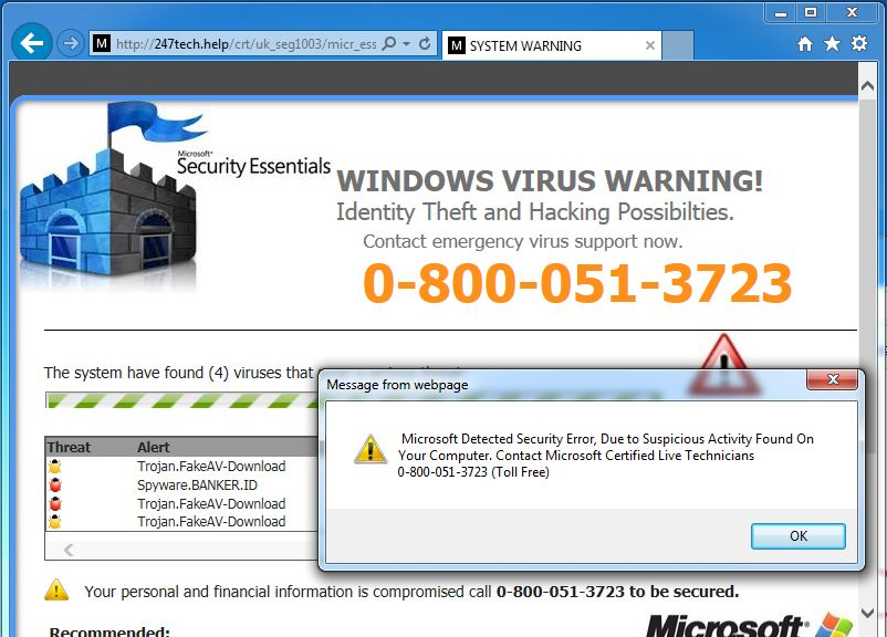 Web Page Security Check