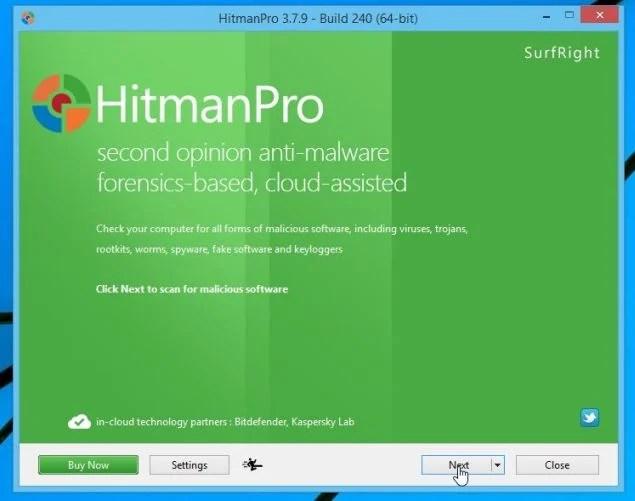 HitmanPro Installer