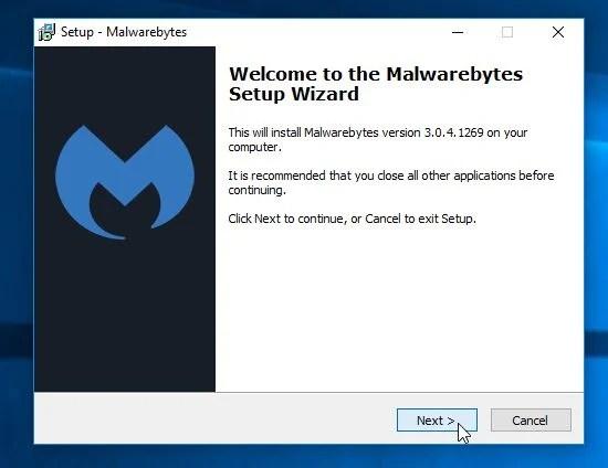 Malwarebytes Anti-Malware Installer