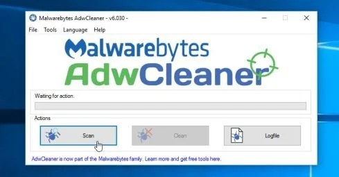 Scan your computer with Malwarebytes AdwCleaner to remove adware