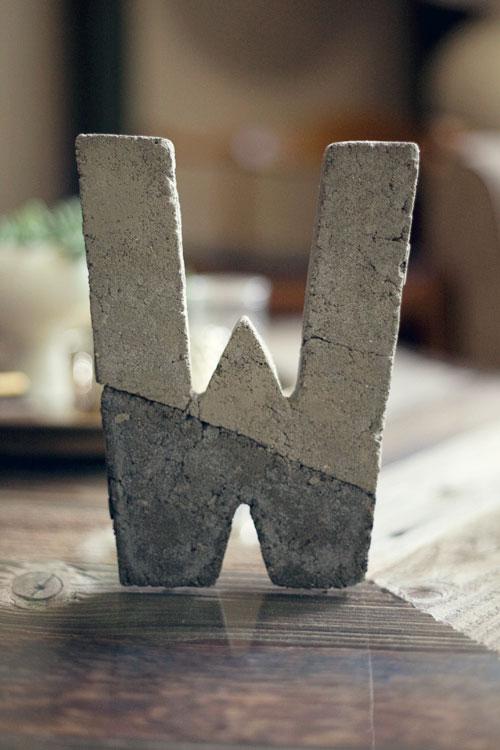 DIY_concrete_letter1