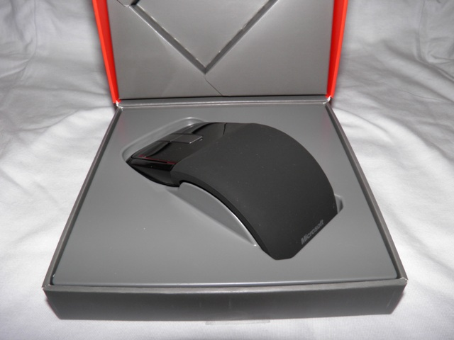 Microsoft Arc Touch Mouse in the box