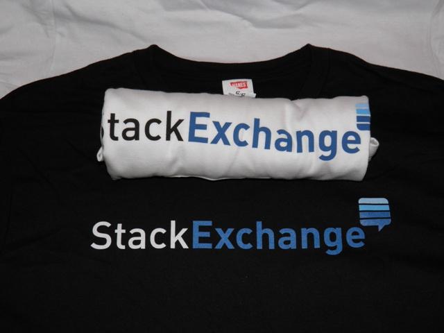 Stack Exchange T-shirts