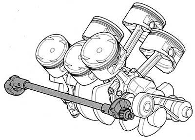 Заметки malykh.com : Двигатели V6 с углом развала 90° (Япония)