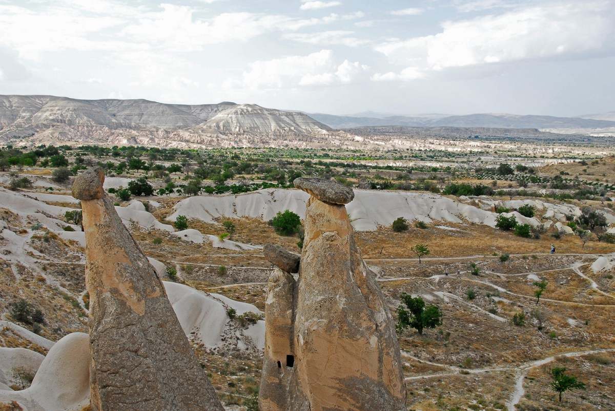 Incredible stone structures of Cappadocia