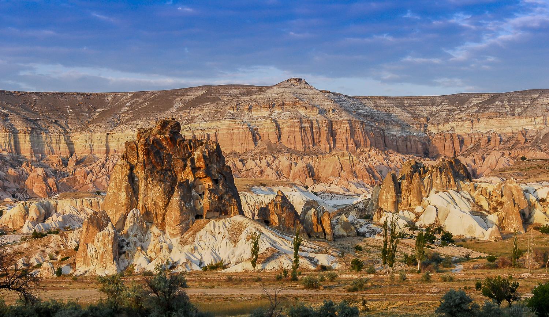 Fantastic landscapes of Cappadocia