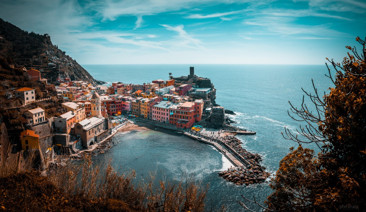 The beauty of Vernazza in the Cinque Terre