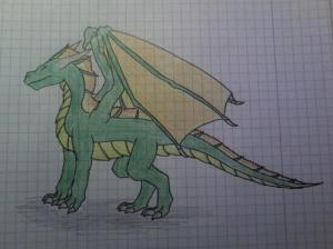 drawing dragon drawings easy fairy tale simple characters author