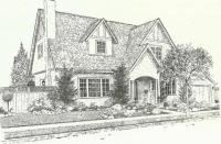 Drawing of a House. My country. Drawings. Pictures