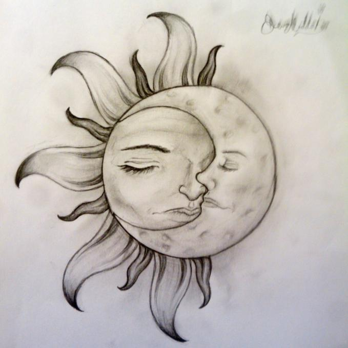 sun and moon nature