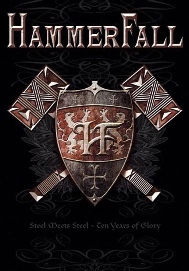 Hammerfall  Steel Meets Steel Posterflag