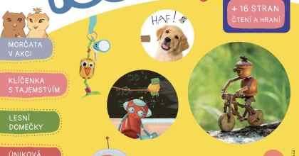 Vyšlo první číslo časopisu pro děti Tečka!