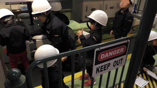キッザニア東京の地下鉄体験