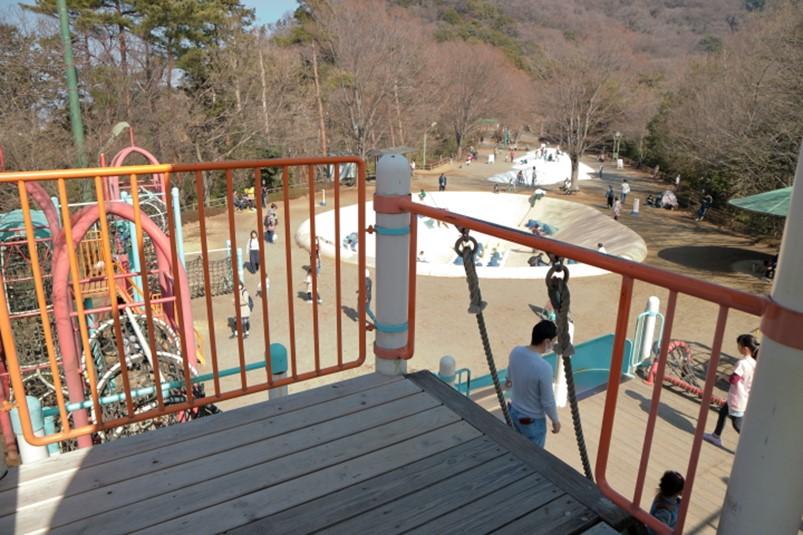 栃木県栃木市と佐野市の県営みかも山公園わんぱく広場