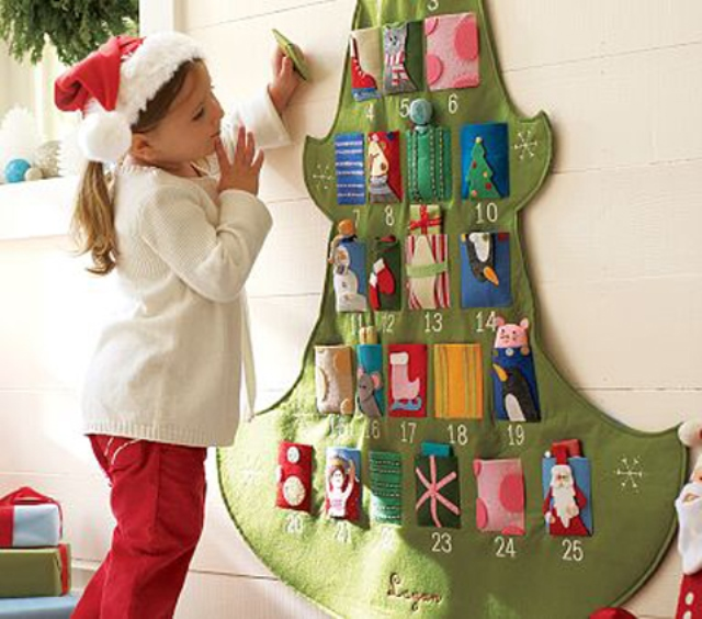 Calendario Adviento Infantil.Ideas Para Calendario De Adviento Para Ninos Con