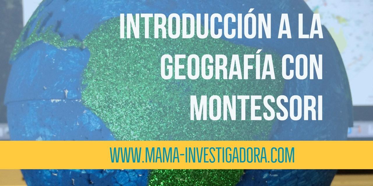 Introducción a la geografía con Montessori - DIY globo de lija e ...