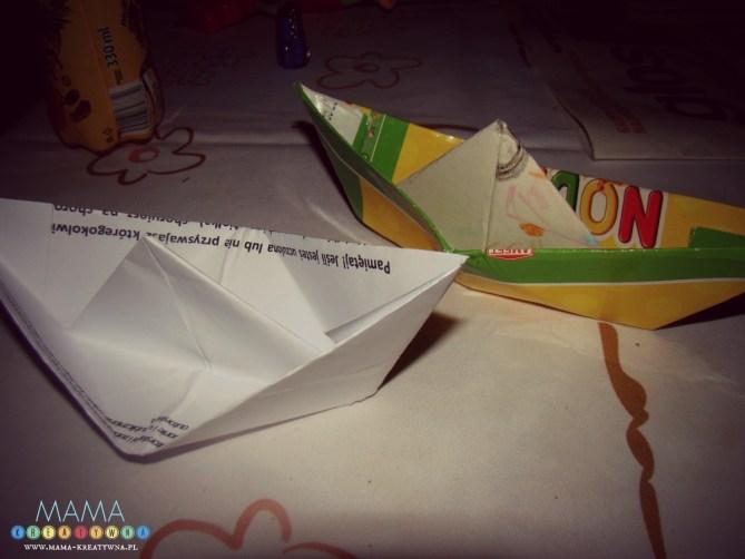 zabawki z papieru