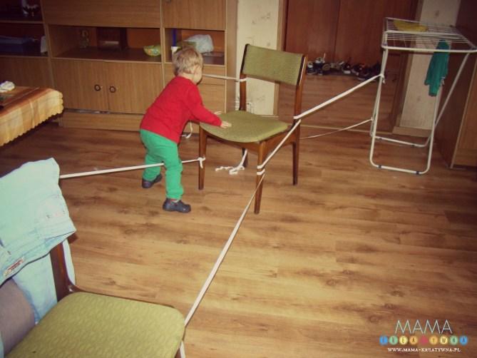 Zabawa w pajęczą sieć