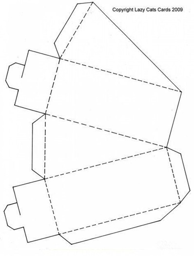szablon na tort z papieru