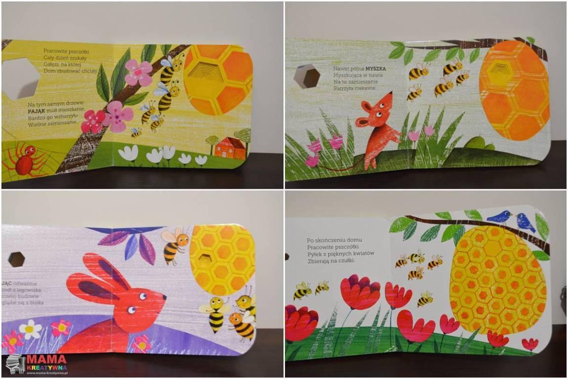 książka o pszczółkach