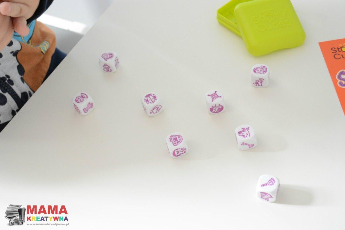kostki do gry dla dzieci