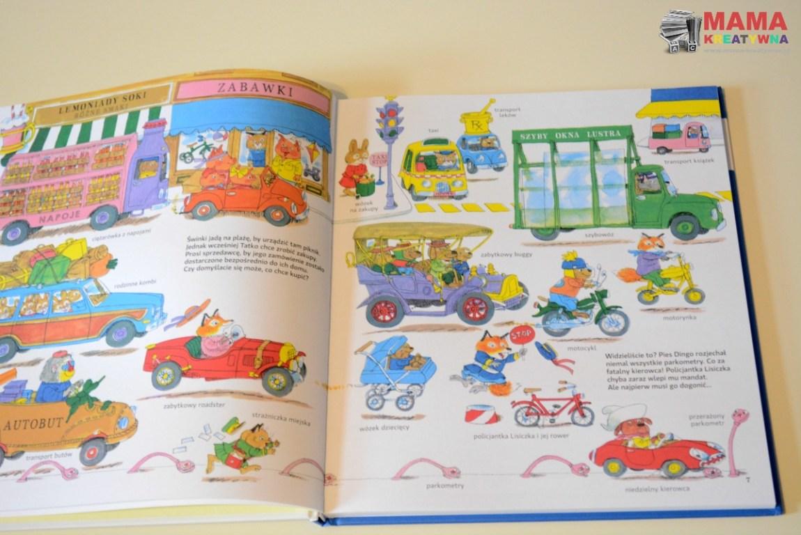 książka obrazkowa z pojazdami
