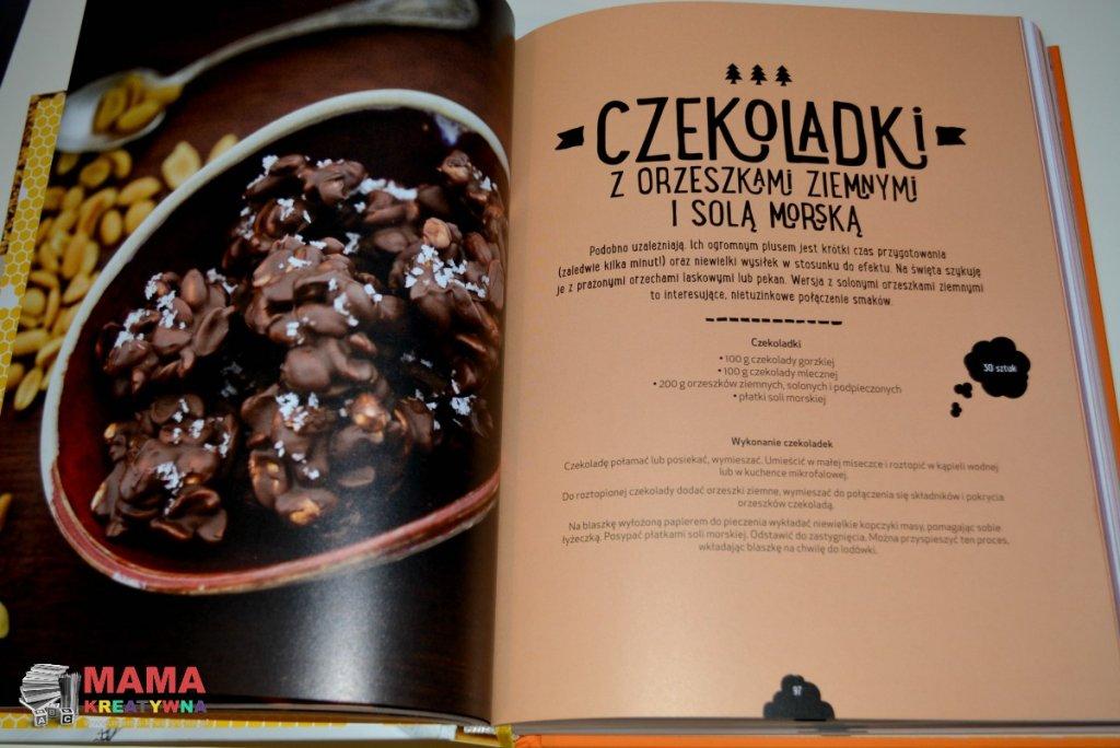 czekoladki z orzeszkami ziemnymi