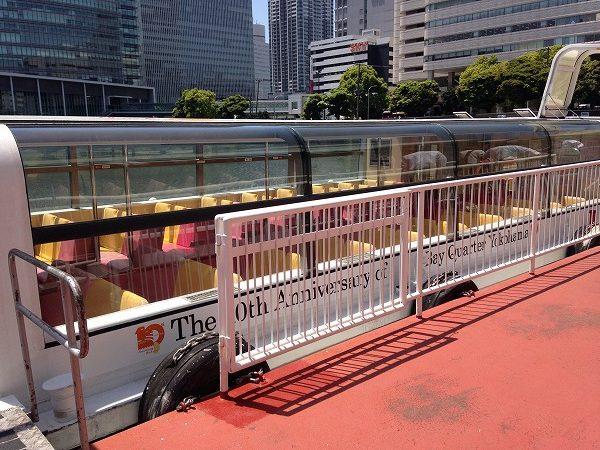 横浜観光船・シーバスを徹底解説。動画・ルート・所要時間・乗り場・時刻表・料金・乗車券購入方法など