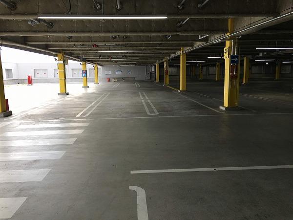 ドンキ駐車場4階