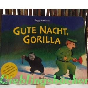 Gute Nacht Gorilla, Peggy Rathman, Moritz Verlag
