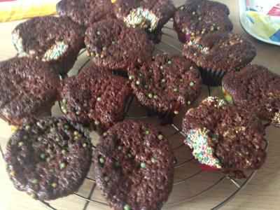 Muffins nachher