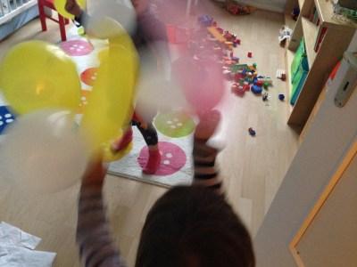 Luftballonkampf