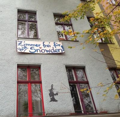 Ein Bett für Snowden - Berlin mit Kindern